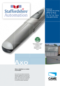 Axo Brochure Download From Staffordshire Automation
