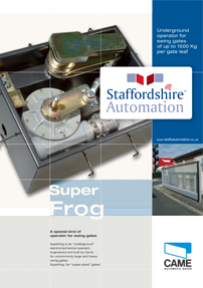 Super Frog Brochure Download From Staffordshire Automation